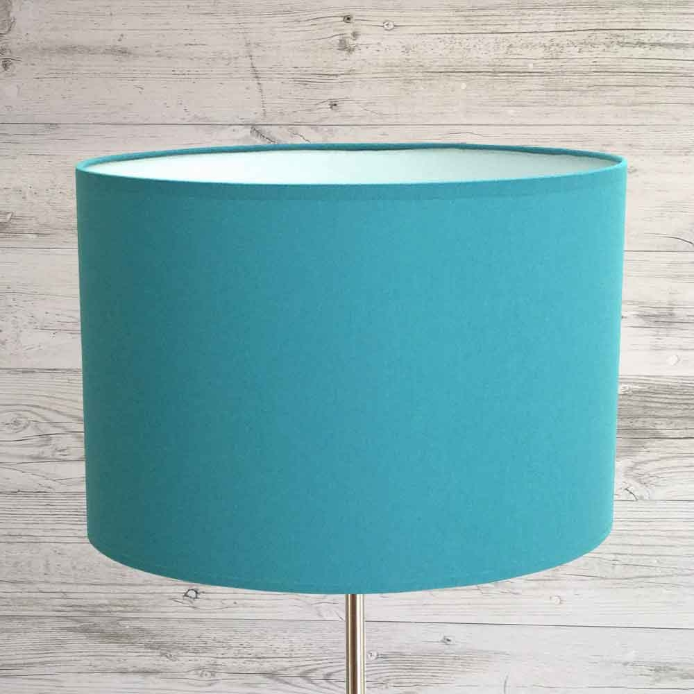 Drum Lampshade Peacock